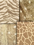 Tan Animal Fabric
