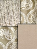 Tan & Taupe outdoor fabric collection - Solids, Stripes, Tropicals, Geometrics