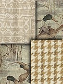 Tan Southwest Lodge Fabrics