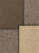 Taupe Herringbone Fabric