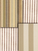 Taupe Stripe Fabric