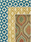 Tile & Medalion Fabric