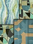 Contemporary Fabric Retro