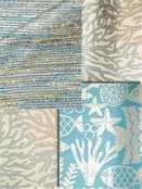 Blue & Green Outdoor Fabrics