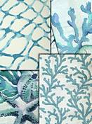 Turquoise Waters Coastal Fabrics
