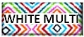 White and Multicolor fabric