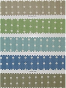 Jacquard Cotton dot fabric for upholstery, drapery of bedding