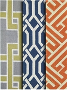 Geometric Fabric by the Yard