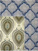 Medallion fabric patterns by the yard