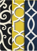 Lattice and Scroll Fabric