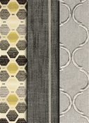 Richloom Grey Fabrics