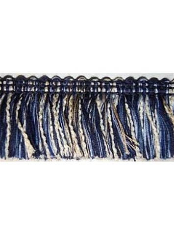 Sunbrella 2 Inch Brush Fringe Navy