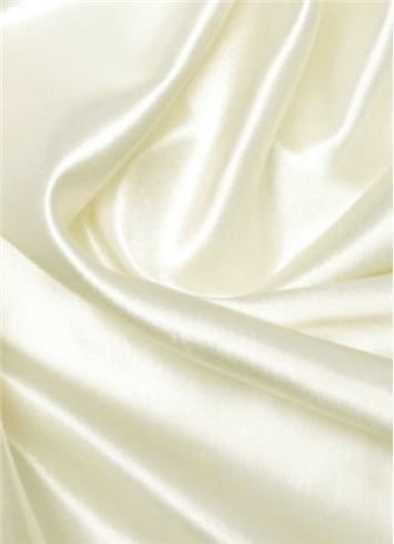 Ivory Duchess Satin Fabric