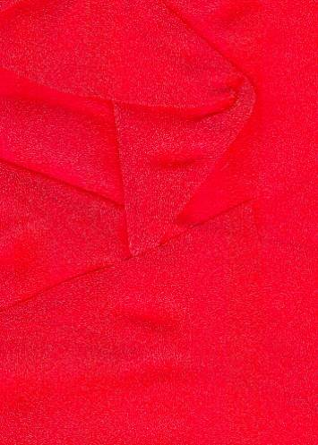 Red Sparkle Organza Fabric