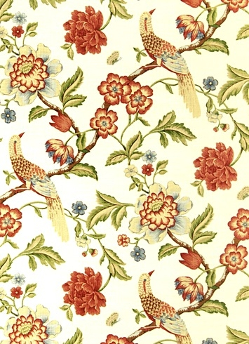 Jaclyn Smith Fabric 01832 Punch