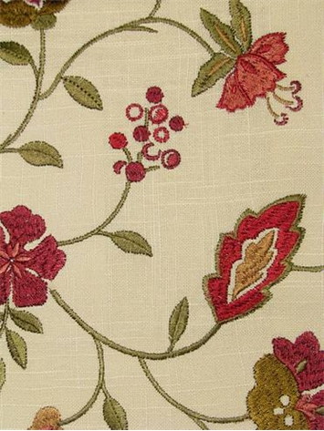 Jaclyn Smith Fabric 02105 Golden Berry