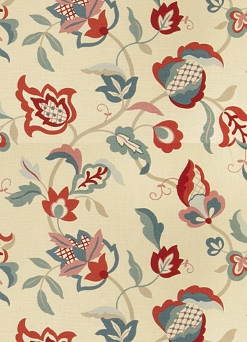 Jaclyn Smith Fabric 02614 Punch