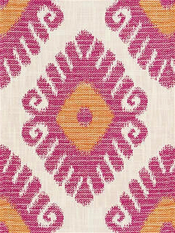 Jaclyn Smith 04755 Flamingo Inside Out Ikat