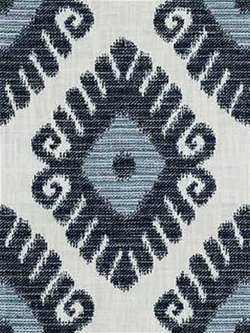 Jaclyn Smith 04755 Indigo Inside Out Ikat