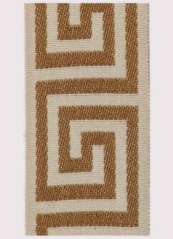 Taupe Greek Key Tape 825-408