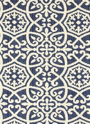 AY Athena Sapphire Outdoor Fabric
