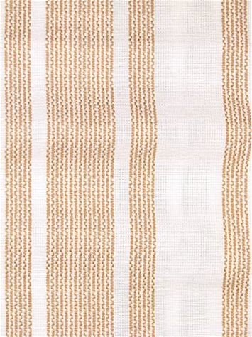 Amalfi Stripe Tan Cotton fabric