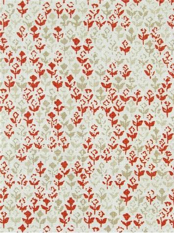 Amar 716 Chilipepper John Robshaw Fabric