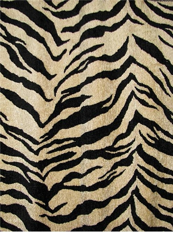 M7553 Fluffy Onyx Tiger Fabric Store Discount Fabric