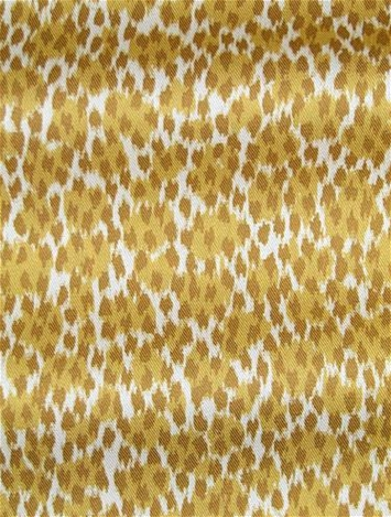 Arnaud Lemon Ocelot Skin Fabric