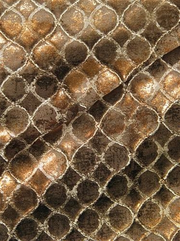 Beadling 681 Bronze Metallic Fabric