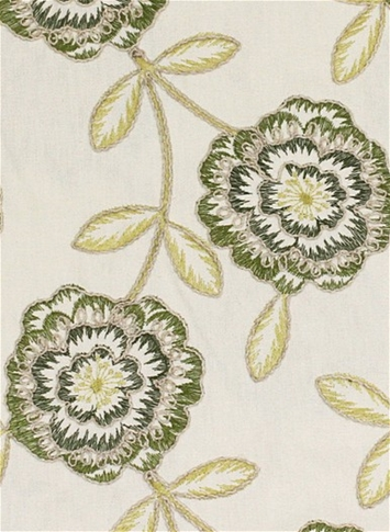 Bement Greenbery Embroidery Fabric