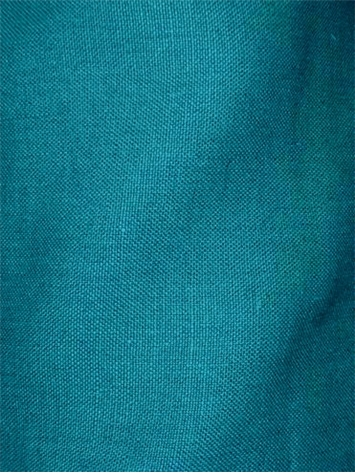 Brussels 522 - Peacock Linen Fabric