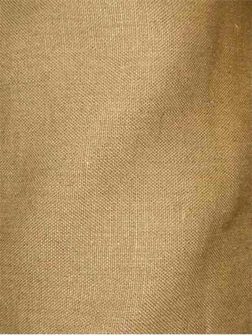 Brussels 881 - Vintage Gold Linen Fabric