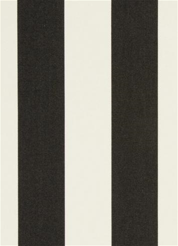 Cabana Stripe Black Al Fresco Fabric