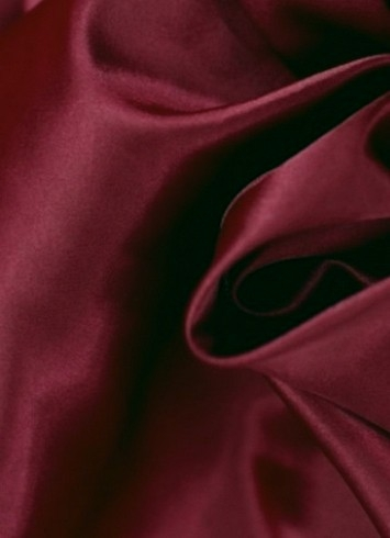 Burgandy Crepe Back Satin Fabric