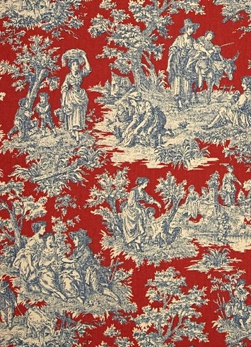 Charmed Life Heritage Toile Fabric