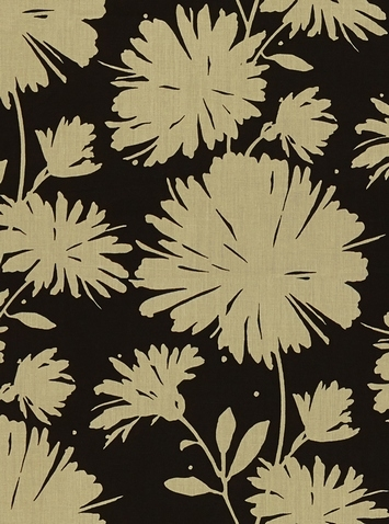 Daisyfield Black - Kate Spade Fabric