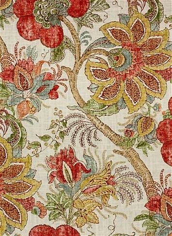 Dartmouth Persia Jacobean Fabric