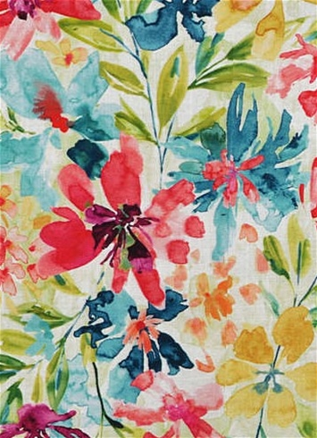 Desiree 113 Popsicle Floral Fabric