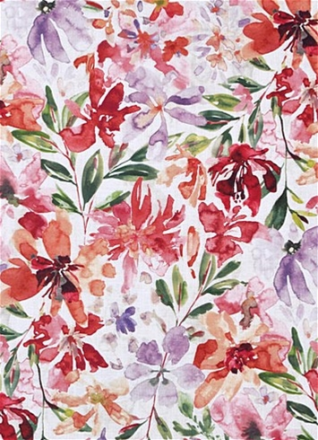 Desiree 361 Woodrose Floral Fabric