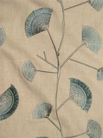 Finchley Mineral Embroidered Fabric