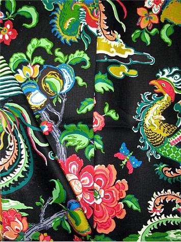 Firebird Ebony Fabric By Style Fabric By Pattern