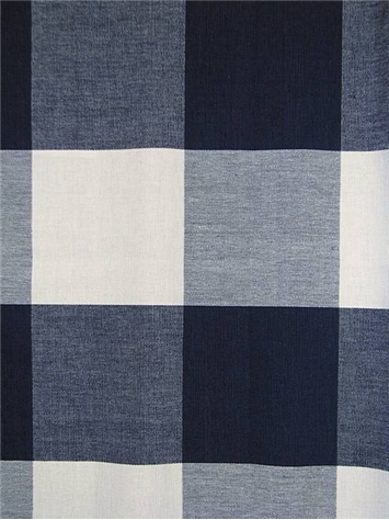 Brown And Blue Panel Curtains