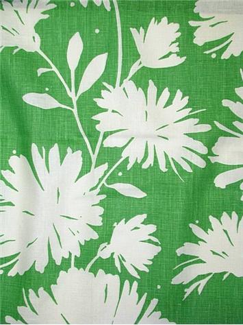 Gerbera Green Kate Spade Fabric Decorator Fabric Rooms