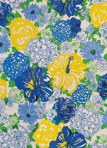 Heritage Floral Blue Yellow