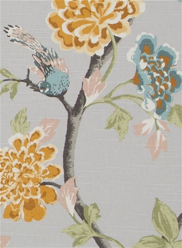 Helene Floral French Grey