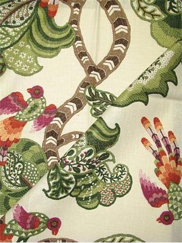 Henrietta Evergreen P Kaufmann Fabric