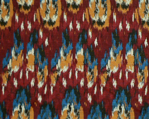 Ikat Craze Poppy/Birch