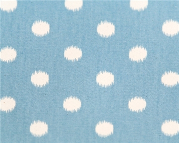 Ikat Dots Arctic Soft/Blue Natural