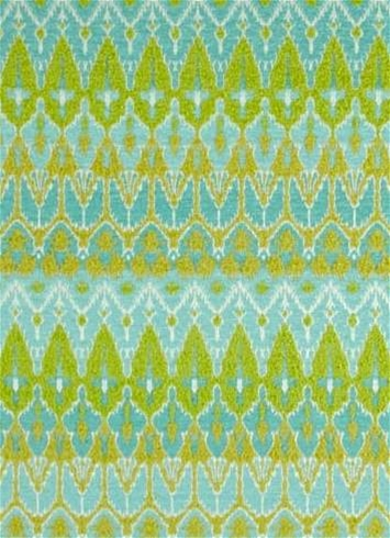 Ila Light Green Chenille Tapestry